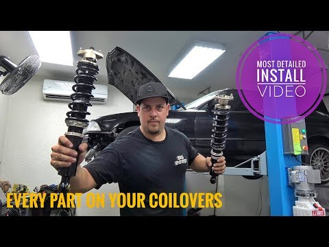 INSTALLING BC CUSTOM BC COILOVERS ON MY E36 DRIFTCAR