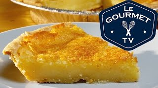 Old Fashioned Buttermilk Chess Pie - Recipe - LeGourmetTV