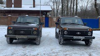 Новая Lada 4x4 против старой Нивы - год разницы, а уже восторг!