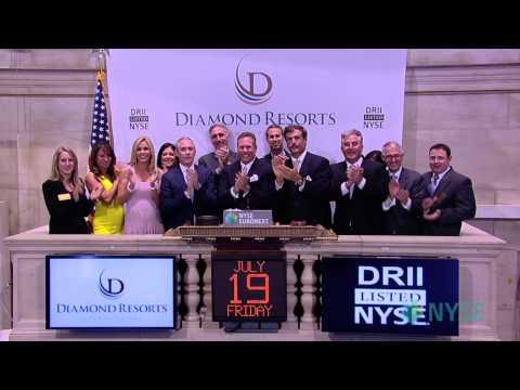 Diamond Resorts International Celebrates IPO - YouTube