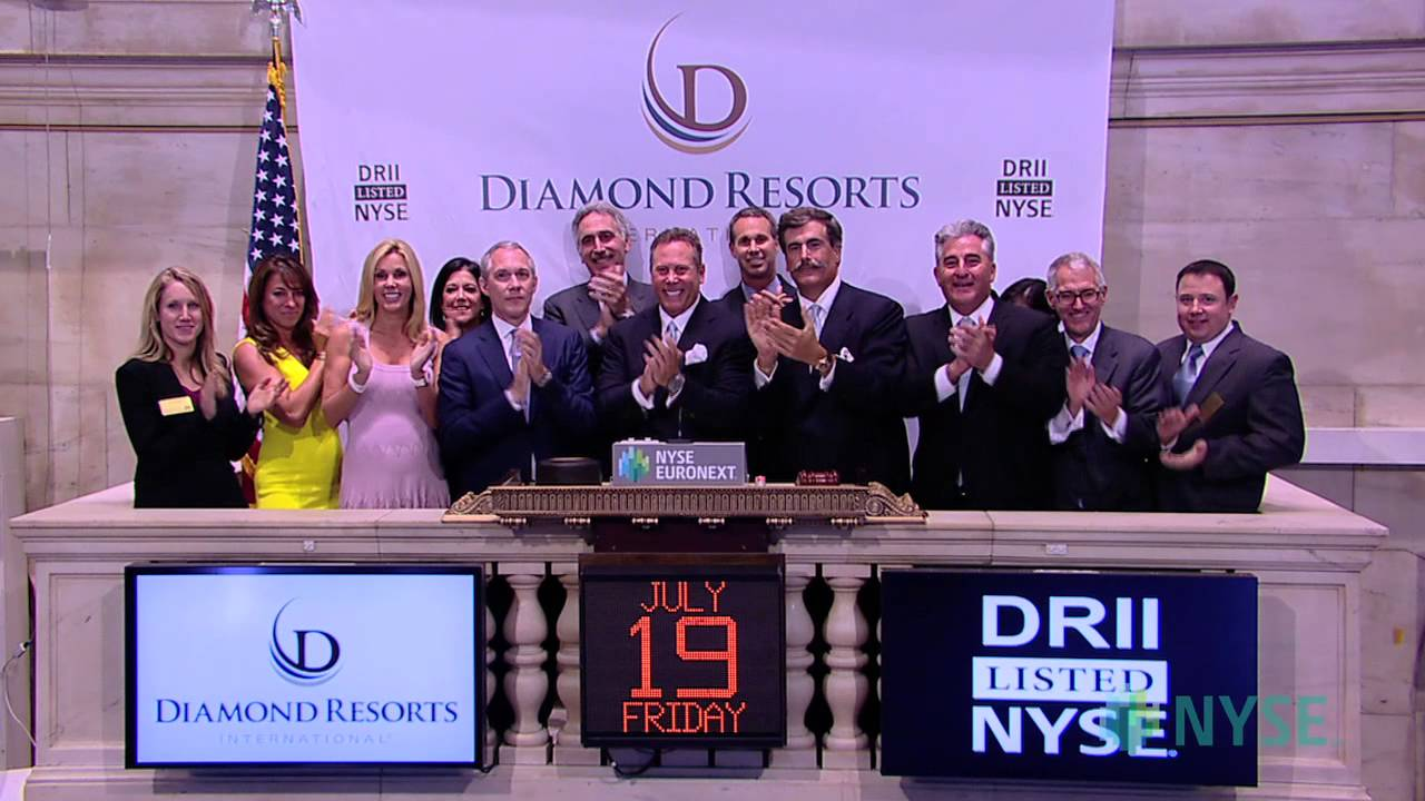 Diamond Resorts International Celebrates Ipo Youtube