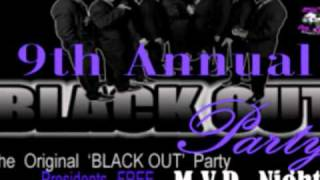 dtmob 9th annual black out party mvp night original bikers blackout party