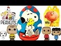 PEANUTS MOVIE Snoopy Amp Woodstock Play Doh Surprise Egg McDonald 39 S Happy Meal Toys Funko Pops mp3