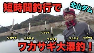 佐賀県北山ダムでワカサギ大爆釣!! thumbnail