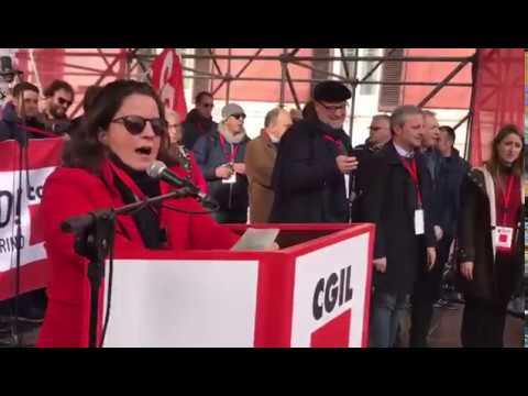 Intervento di Gigia Bucci Segretario generale della CGIL di BARI # 1