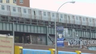 MTA New York City Subway : F & Q Train departs Coney Island - Stillwell Ave in full HD