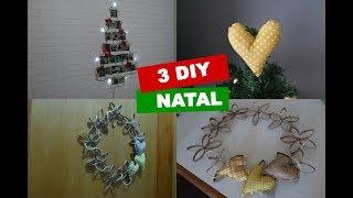 3 DIY NATAL – GUIRLANDA DE PAPEL / ARVORE DE FOTOS E MAIS