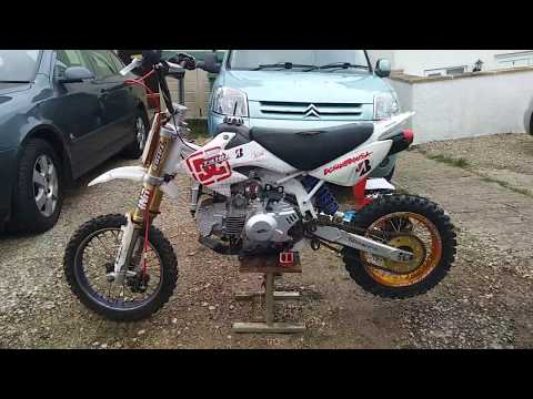 My pit bike 160cc is nice and clean know