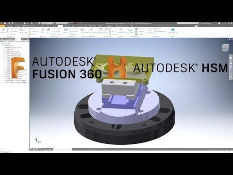 CAD/CAM interface | HSMWorks & FUSION 360 | NCSIMUL