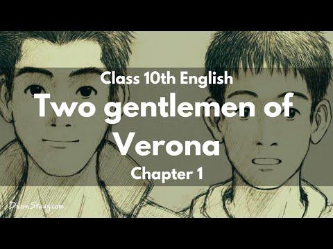 Two Gentlemen of Verona : Class 10 X CBSE English Video Lectures
