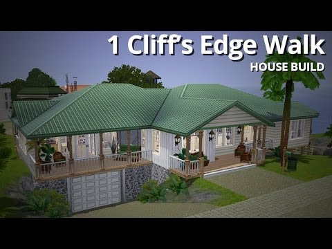 The Sims 3 House Building - 1 Cliff's Edge Walk - Aluna Island