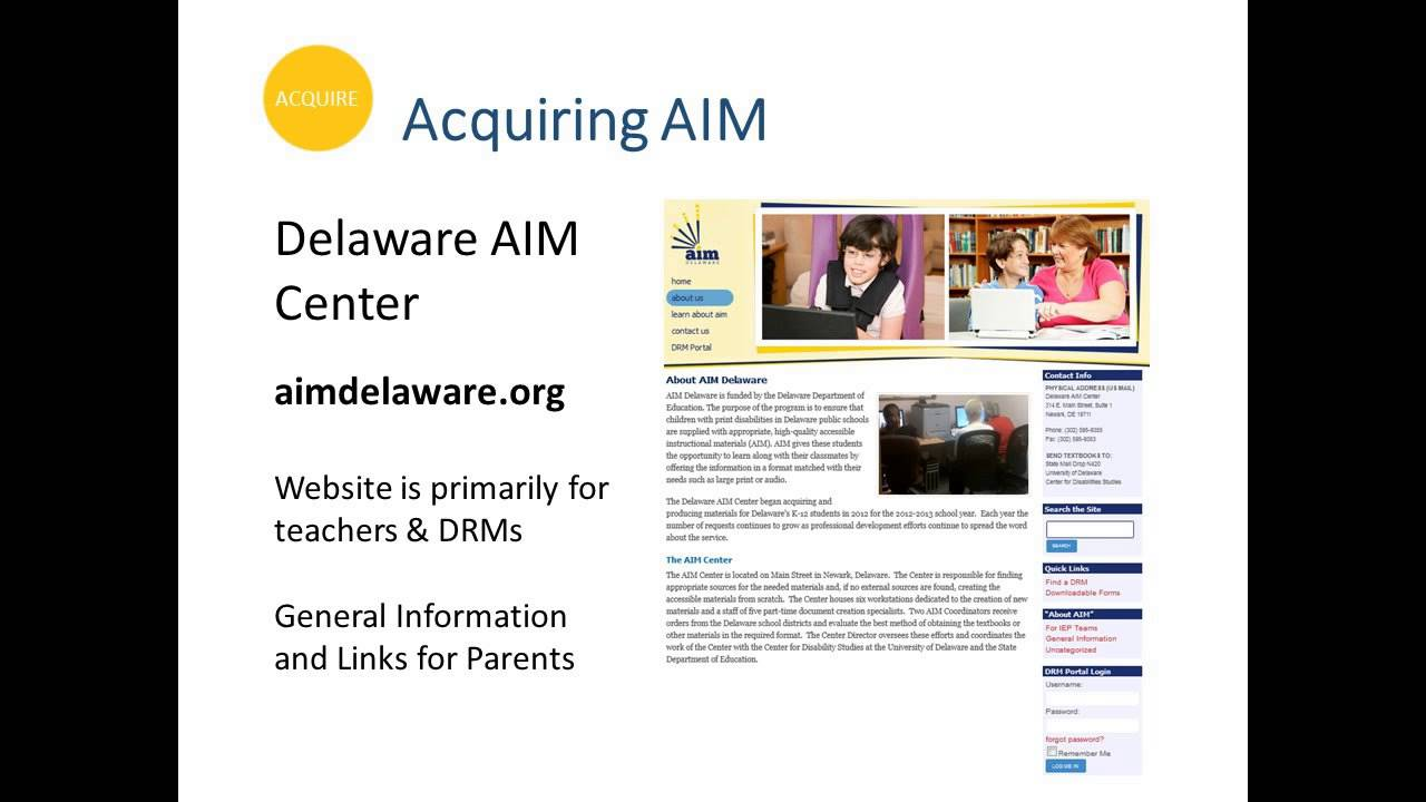 Accessible Instructional Materials Aim Is Aim Right For Your