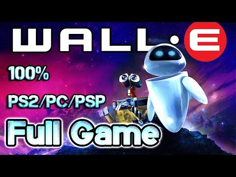 Wall-E  Walkthrough 100% FULL GAME Longplay (PS2, PSP, PC)