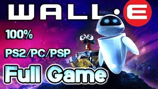Wall-E Walkthrough 100% Longplay FULL GAME (PS2, PSP, PC)