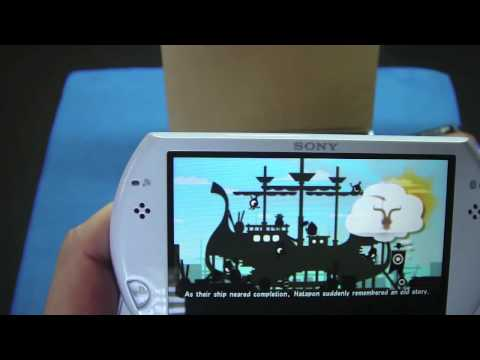 White PSP Go Unboxing/Mini Review