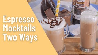 All About the Mocktails: Espresso Mixer