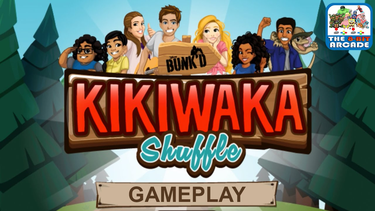 Bunk'd: Kikiwaka Shuffle – Help Campers On Their First Day of Camp (Gameplay)
