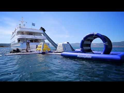 Aquaglide Yacht Aquapark Rental