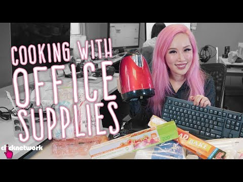 Cooking With Office Supplies - Xiaxue's Guide To Life: EP204