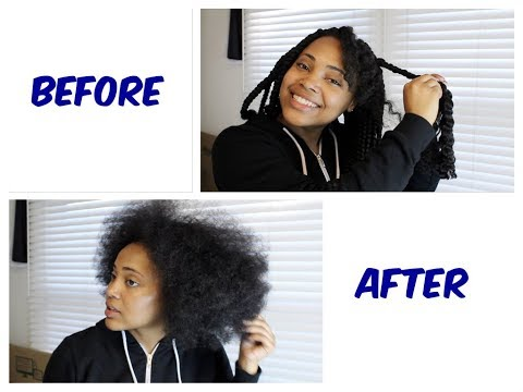 Taking Out My Box Braids + Life Update