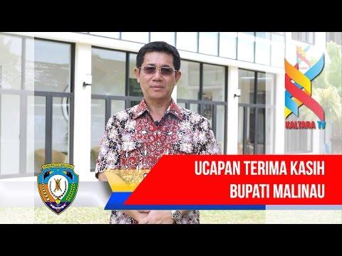 Kaltara TV : Ucapan Terima Kasih Bupati Malinau atas suksesnya Syukuran Pelantikan Bupati Malinau