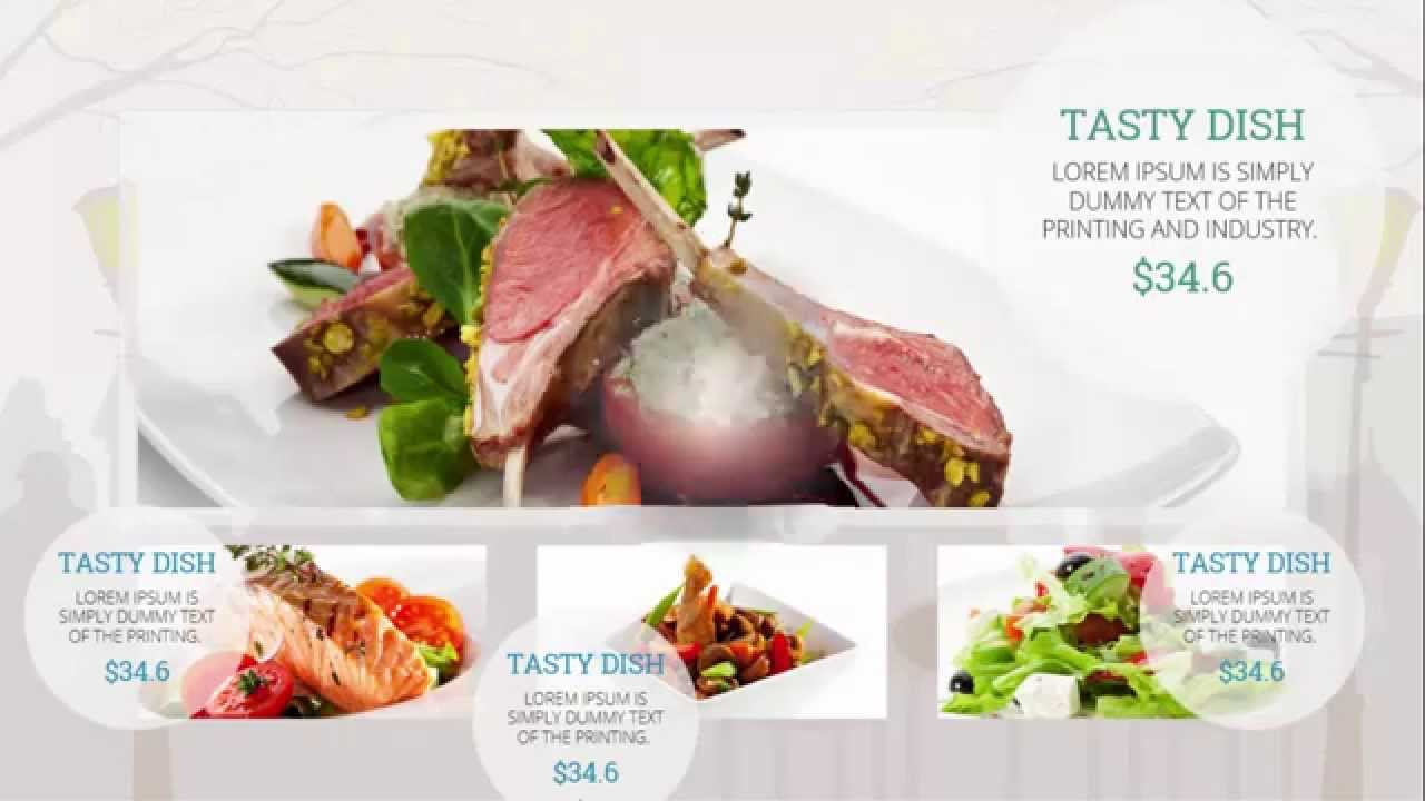 Powerpoint templates free restaurant youtube toneelgroepblik Images