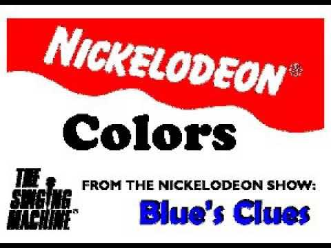 SM9924 10 Blue's Clues Colors [karaoke]