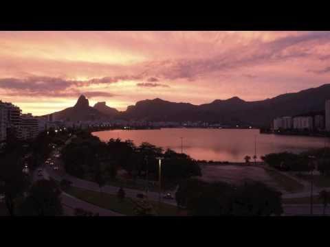 Sunset, Rio de Janeiro, Nov. 2, 2010