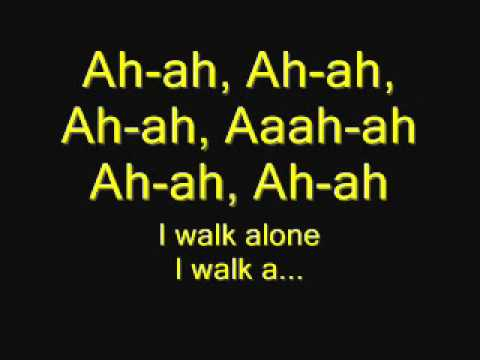Greenday   i walk alone