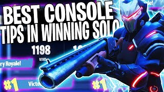 "HOW TO GET MORE SOLO WINS IN FORTNITE! | ""Fortnite Solo Tips & Tricks To Win More"""