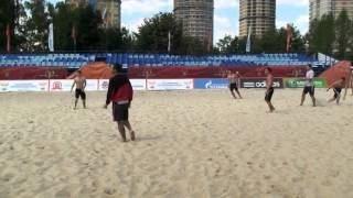 Тренировка на песке