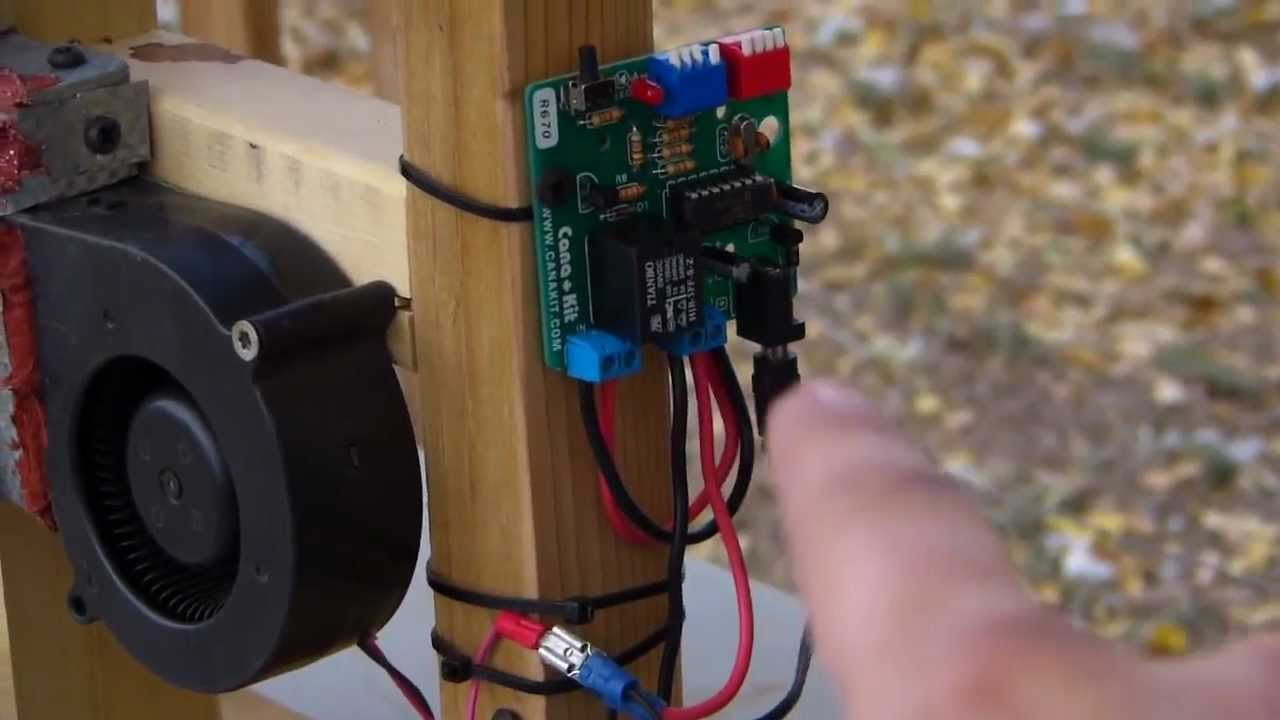 DIY 12v Pellet Stove Control And Auger