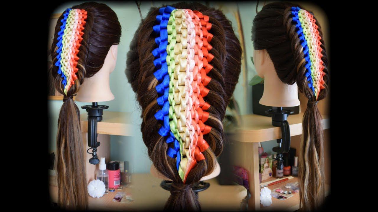 Hair Styles And Braids: Maya Heart Hairstyles - YouTube