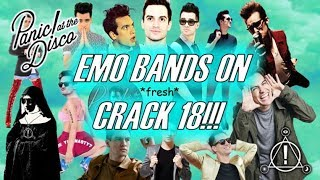 EMO BANDS ON *f-f-fresh* CRACK 18!!! (P!ATD PRAY FOR THE WICKED EDITION) (For CrankThatFrank)