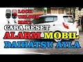 Cara Reset Alarm Daihatsu Ayla - Error Alarm Lock dan Unlock Mobil Daihatsu Ayla