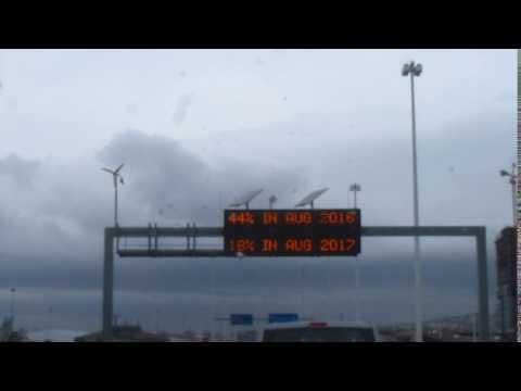 MVI 3657   Watercrisis in Kaapstad tijdens de regen