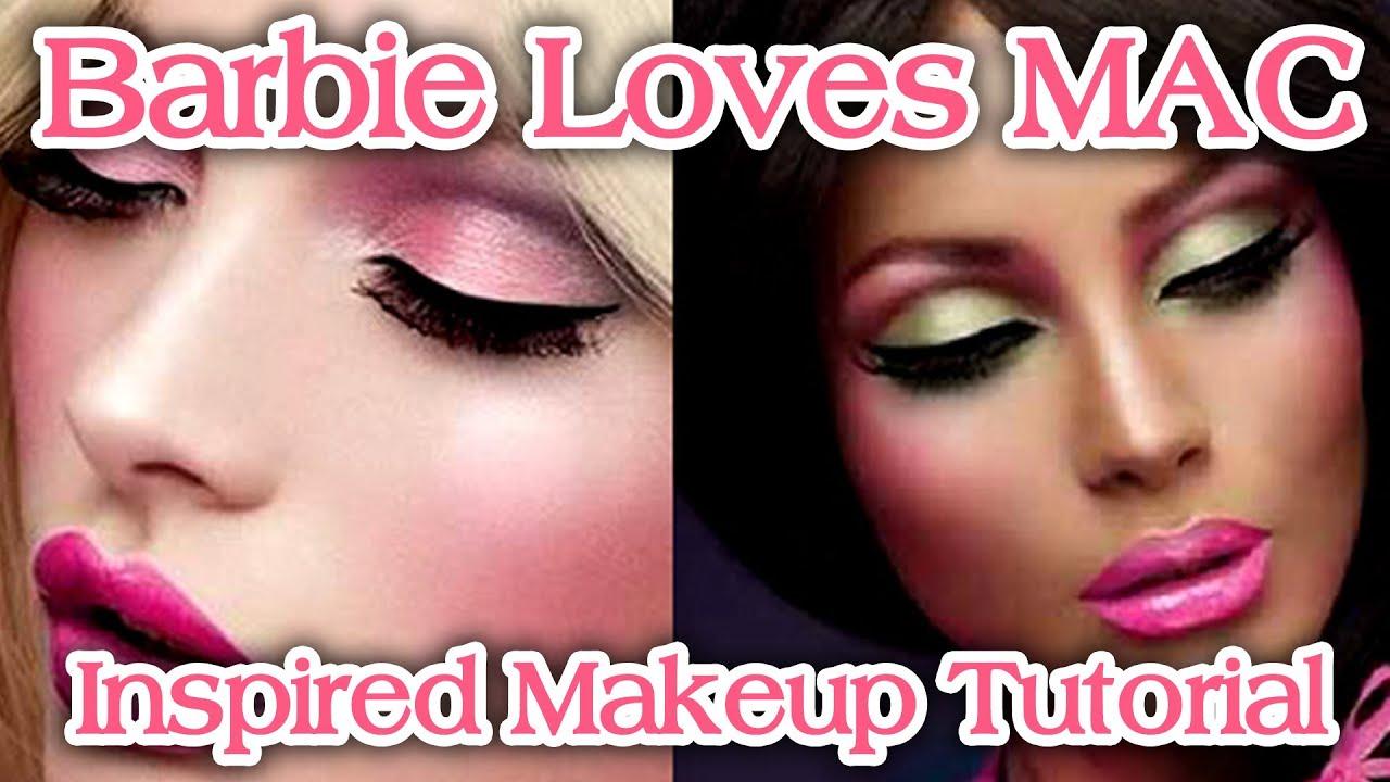 makeup mac Barbie loves