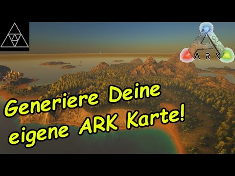 ARK Karten selbst generieren! Map Generator! Procedurally Generated ARKs! ARK 248! deutsch