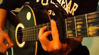VÉN RÈM CHÂU (卷珠帘) lời việt (Quang Phước) cover guitar