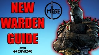 NEW Warden Guide by Mege - Reworked Warden Playstyle, Tips and Tricks