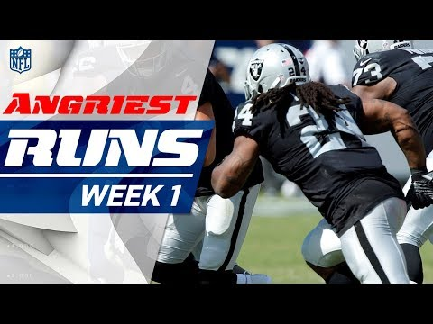 Top 5 Angriest 😠 Runs of Week 1  | Good Morning Football | NFL Network