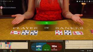 £500 Cash Vs Live Baccarat And Blackjack