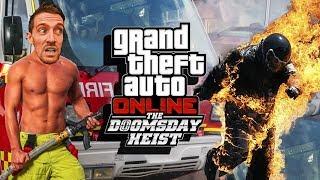 BROS BEFORE HOSE - GTA 5 Doomsday Heist Gameplay Part 11