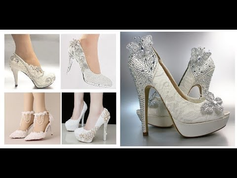 Designer Wedding Shoes Design=Bridal Footwear Collection 2018