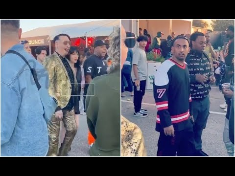 SHROOM - Marilyn Manson Surprises Fans At Travis Scott's Hip Hop Festival [Video]