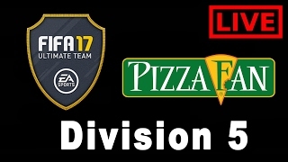 Fifa 17 Ultimate Team Division 5B Live