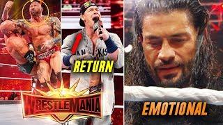 WWE Wrestlemania 7 April 2019 Highlights Hd Full Show Results Winne...