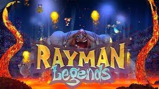"""Rayman Legends #6 """" Chefão Lerdão !! """" Gameplay (Fiesta De Los Mortos) Dub. e Leg. PT-BR"""