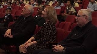 Bishop Neil Tiedemann visits O.L.P.H. CAB (2019)