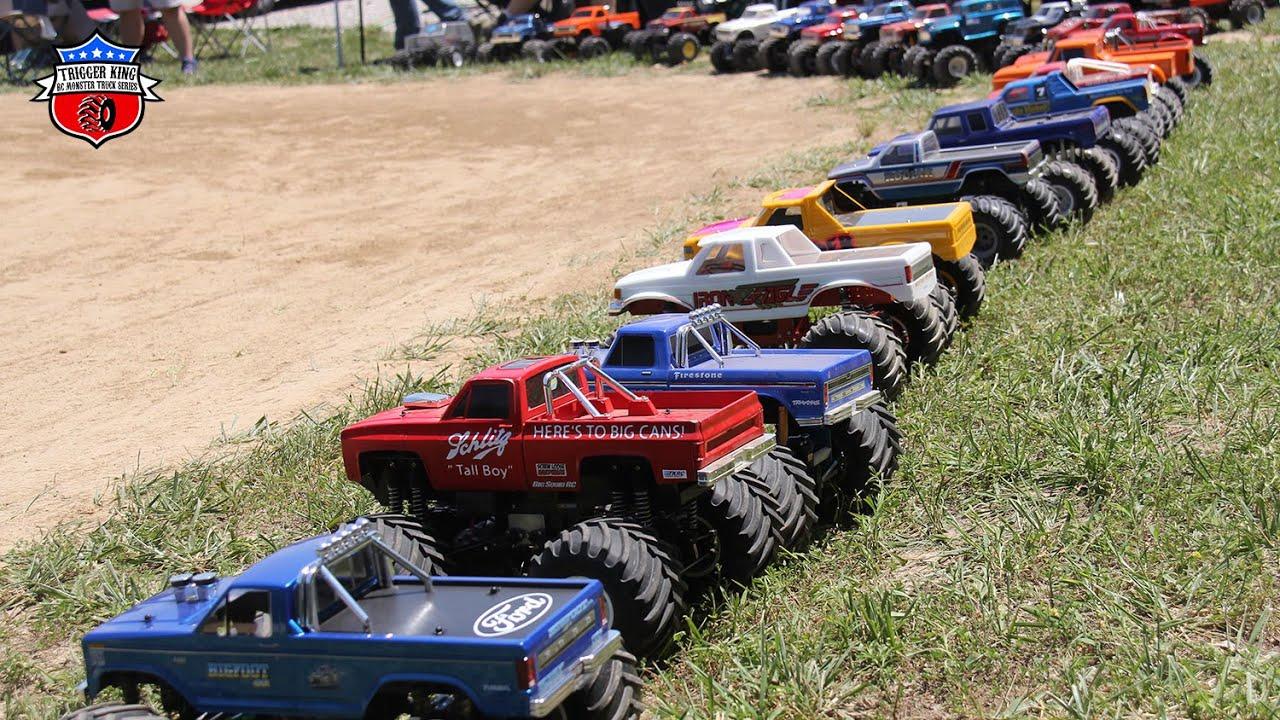 DIRT TRACK Outlaw Retro Racing - Jun.14, 2020 - Trigger King R/C Monster Trucks